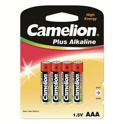 DESTOCKAGE / Lot 48 piles Alcalines blister LR03 / AAA 1250mah Camelion 06/2020