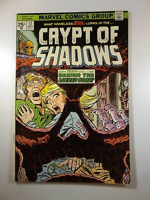 "Crypt of Shadows #12 ""Behind The Locked Door!"" Beautiful Fine- Condition!!"