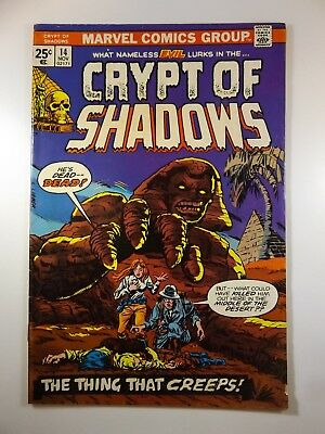 "Crypt of Shadows #14 ""The Thing That Creeps!"" VG/Fine Condition!!"