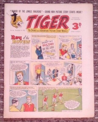 Tiger comic no.66 (December 10 1955). Roy of The Rovers. Good