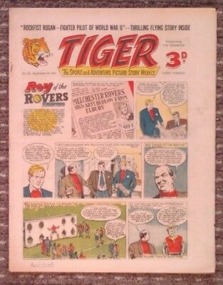 Tiger comic no.55 (September 24 1955). Roy of The Rovers. Very Good
