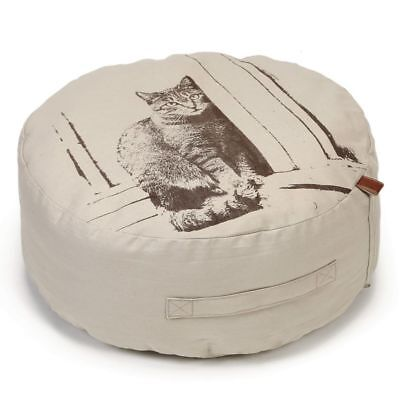 Designed by Lotte Pouf Cuscino Lettino Gatti Gatto Minoes 50x20cm 706612 Beige☺