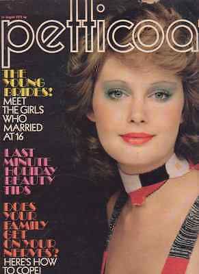 Petticoat magazine 14th August 1971. Madelaine Bell feature