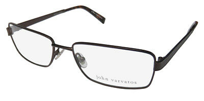 New John Varvatos V134 Masculine Design High-End Eyeglass Frame/glasses/eyewear