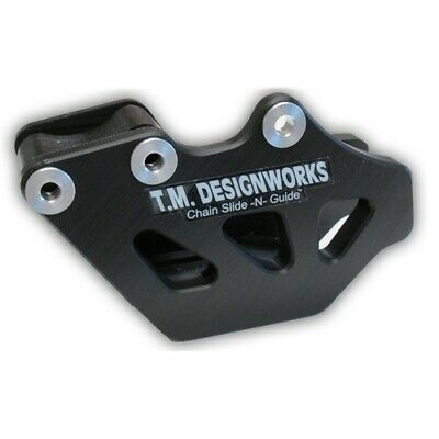 TM Rear Chain Guide Kawasaki KLX450 Black 08 09 KLX 450