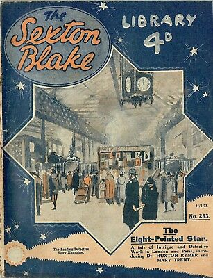 Early Sexton Blake Library 1920s (1st series)