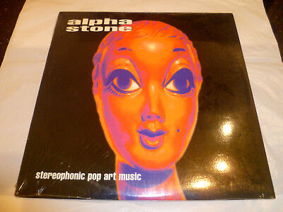 """Alpha Stone (Spacemen 3) - Stereophonic Pop Art Music (New/sealed 10"""" Vinyl Ep)"""