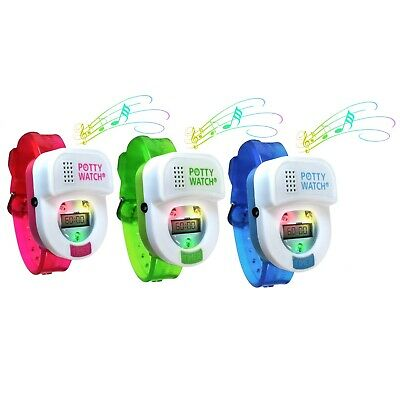Potty Time Watch Toddler Toilet Training Aid ~ Authorized Retailer Warranty