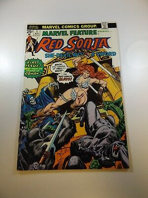 Marvel Feature #1 2nd series w/ Red Sonja VG/FN condition