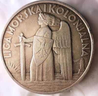 1930 POLAND MEDAL- Maritime and Colonial League -AWESOME HISTORIC PIECE- Lot F21