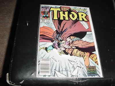 STAN LEE signed AUTO marvel 1985 mighty THOR #355 comic book(authentic hologram)