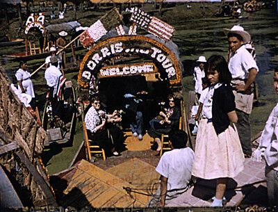 Vintage 1950s 16mm Film Home Movie - MEXICO Floating Gardens of Xochimilco etc