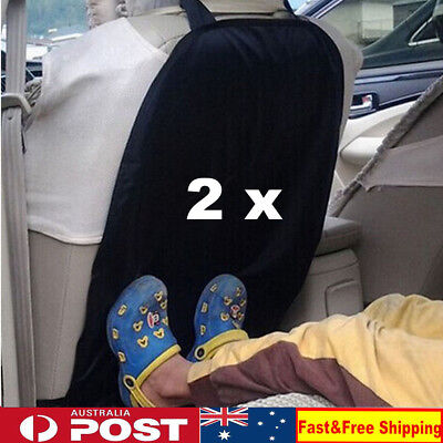 2 x Car Auto Care Seat Back Protector Cover For Children Kick Mat Mud Clean L