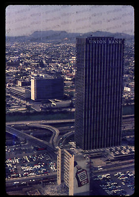 (208) 1969 35mm Slide Photo - LOS ANGELES - View