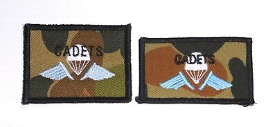 2 Variations of the Australian Army CADET Parachute wing or  Brevet
