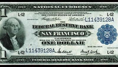 $1 1914 Federal Reserve Note ** MORE CURRENCY FOR SALE **