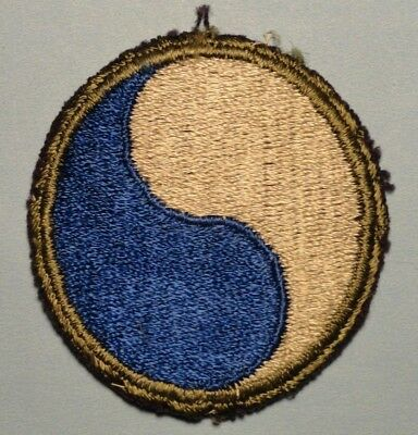 WWII - SALTY US ARMY 29th INFANTRY DIVISION Patch
