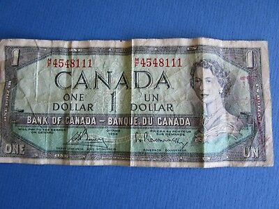 Canada Dollar Circulated Note. 60,s