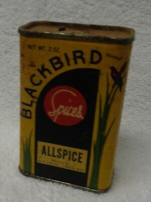 Blackbird Spices Allspice Card Board Covered Spice Tin
