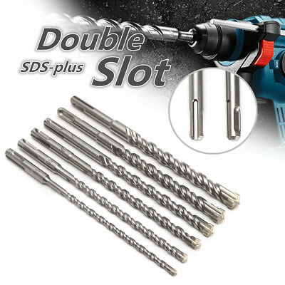 SDS Plus Masonry Hammer Drill Bits For Bosch Concrete Tungsten Carbide Tip 210mm