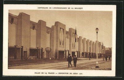 AK Liege, Exposition Internationale 1930, Palais de la France, Weltausstellung