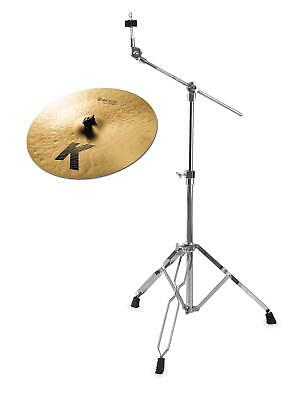 "Zildjian K 17"" Dark Crash Thin Becken Galgen Becken Ständer Set"