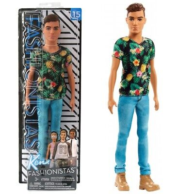 Tropical Vibes Ken | Mattel FJF73 | Slim Fashionistas 15 | Puppe | Barbie