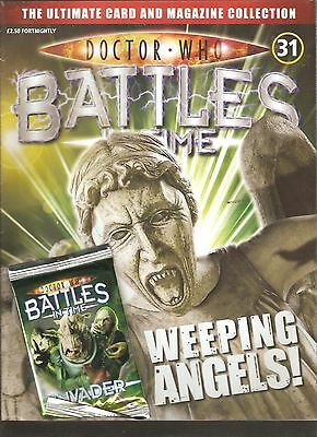 Doctor Who Battles In Time # 31: Weeping Angels + 1 Pack Of Trading Cards [N9]