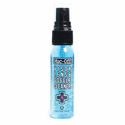 MUC OFF MOTORCYCLE BICYCLE HELMET VISOR LENS CLEANER - 30ml - BRAND NEW - M212