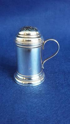 Antique Victorian Sterling Silver Ponce Shaker Pot Hallmarked Ldn 1877 69.9g