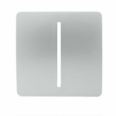 Trendi SPARE FACEPLATE For 1 Gang 1 Way 10 Amp Rocker Light Switch Silver