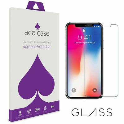 Apple iPhone X Tempered Glass Screen Protector - CRYSTAL CLEAR