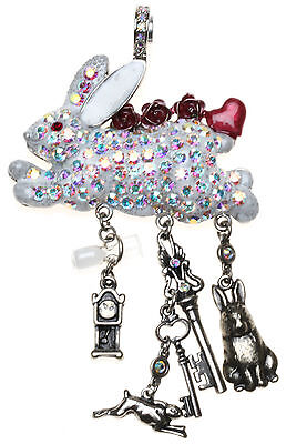 KIRKS FOLLY GO ASK ALICE RABBIT MAGNETIC ENHANCER sivertone Alice in Wonderland