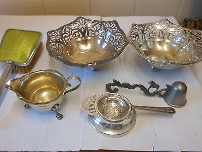 silver plate items,,,,,,,4