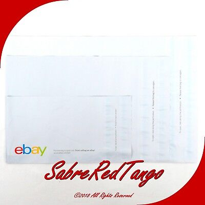 24 Classic Ebay Branded Polymailer Poly Shipping Mailing Envelopes