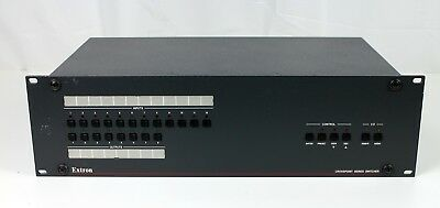 Extron Crosspoint 84HVA Series Switcher Tested Free Shipping