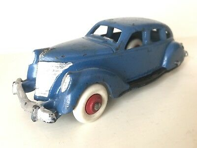 HUBLEY CAST IRON LINCOLN ZEPHYR - 1930's - RARE 6 INCH - MUST SEE RARE MODEL