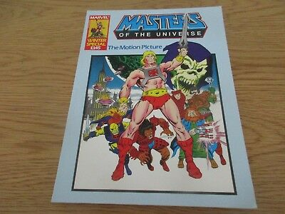marvel masters of the universe He Man Comic the motion picture winter special