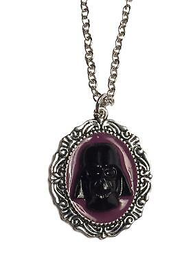 Star Wars Darth Vader Cameo Style Pendant Necklace
