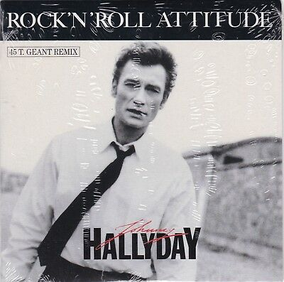 CD 2 titres JOHNNY HALLYDAY n°193 ROCK' N' ROLL ATTITUDE (remix)
