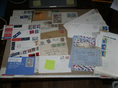 Canada 53 FDI Covers Unaddressed+ 56 Used Mailed Items