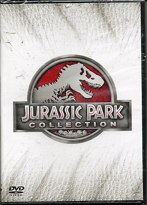 Jurassic Park collection - 4 film - dvd - nuovo