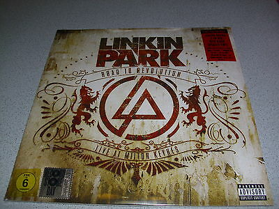 LINKIN PARK - Road To Revolution - LTD Red w/Black Splatter 2LP Vinyl & DVD RSD