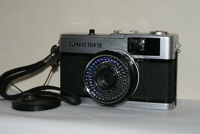 Vintage Olympus Trip 35 Classic 35mm Film Compact camera In Excellent Condition