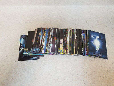 Topps Marvel Comics X-Men Movie Trading Cards 72 card set, complete!