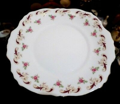 "Vintage 9.25""  Crown FENTON THE POTERIES  Wentworth Cake / Sandwich Plate"