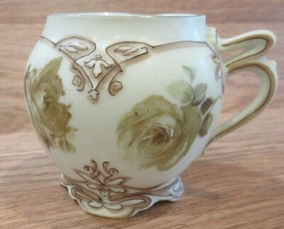 Antique Herman Ohme Porcelain Germany 2 1/2 inch Cup