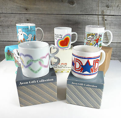 Avon Cup Mug Mother's Day Special Mom Friends Sweet Sentiments Heart Handle NIB