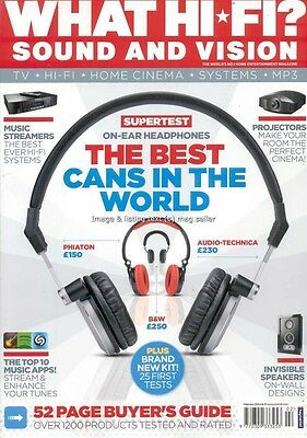 What Hi-Fi February 2012 Headphones Music Streamers Projectors Speakers Apps