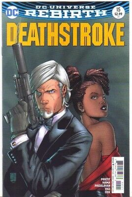 Deathstroke #15 Rebirth Variant Cover NM (2017) DC Comics